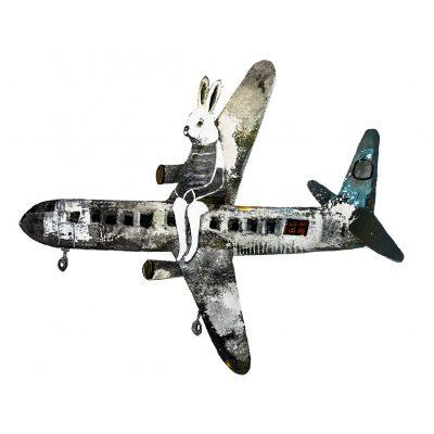vliegtuigklein
